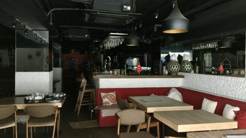 Leasing Restaurant Bar Space with full kitchen in Central Hong Kong