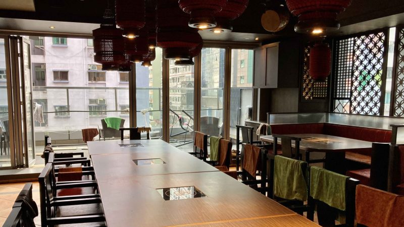 HK Upstairs Restaurant with fitting, licence and outdoor for rent