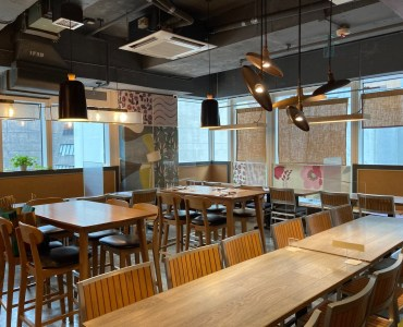 Turnkey restaurant with lease for sale in Central HK