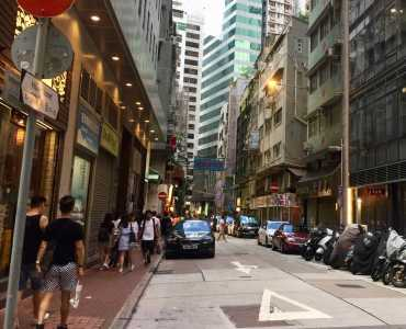 Foodie-street Restaurant Space for Lease in Sheung Wan Hong Kong