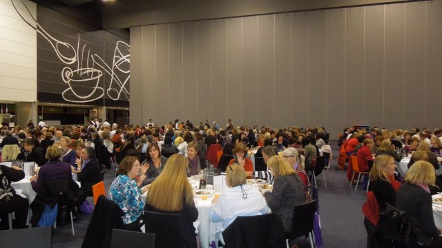 Delegates were provided with wonderful lunches.