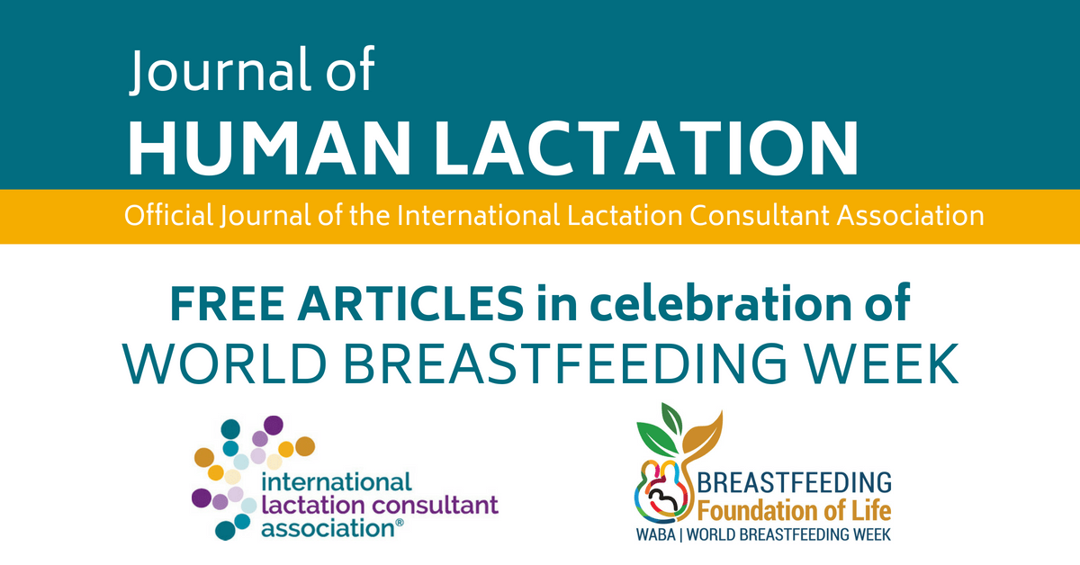 World Breastfeeding Week Lactation Matters