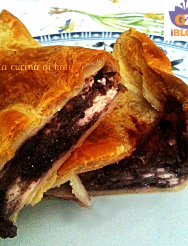 torta salata, torta al radicchio, radicchio, radicchio trevigiano, radicchio rosso di treviso, stracchino di bufala