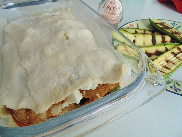 mattonella di verdure preparazine