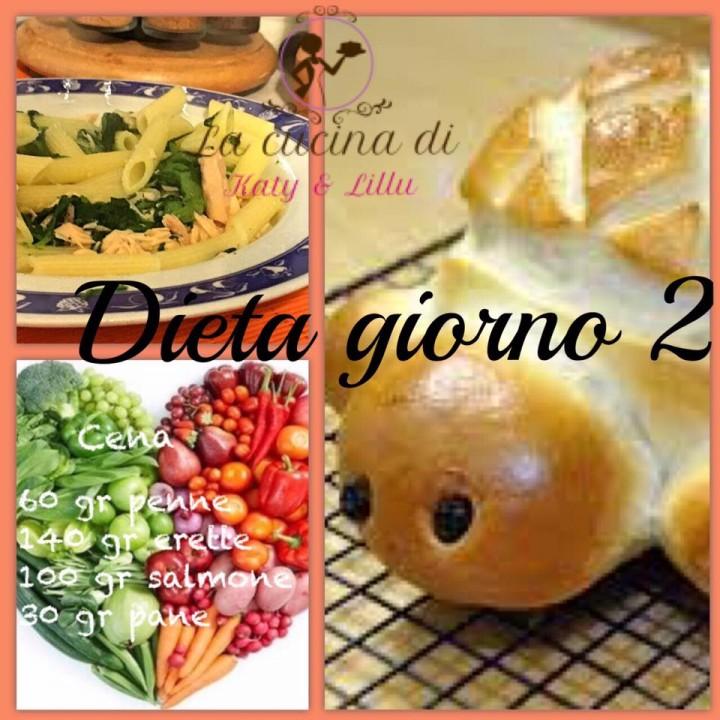 dieta GIORNO 2 cena