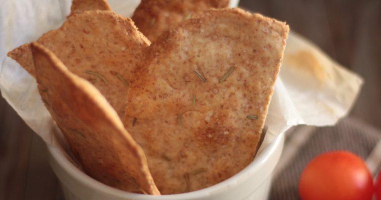Crackers leggeri di pasta sfoglia