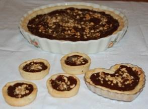 Crostatine semolino e cioccolato