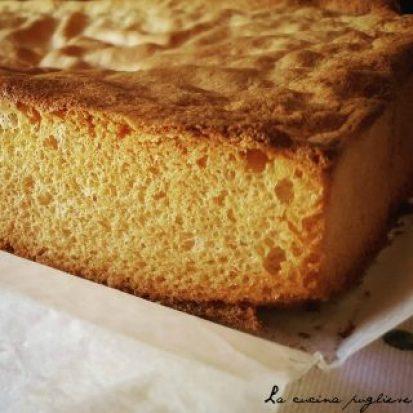 Pan di spagna - la cucina pugliese