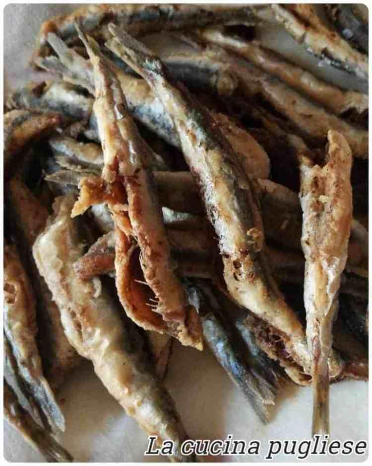 Le alici fritte - la cucina pugliese