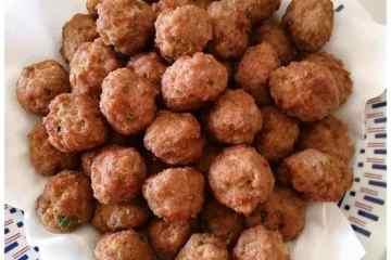 Polpette fritte (purpette fritte) - la cucina pugliese