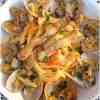 Tagliatelle con vongole cannolicchi e fasolari - la cucina pugliese