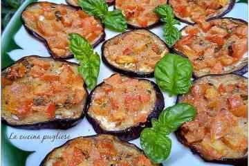 Melanzane gratinate con pomodorini - la cucina pugliese