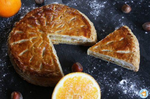 galette des rois orange noisette