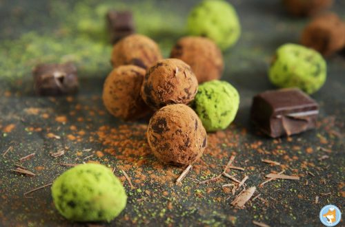 illustration des truffes ua chocolat