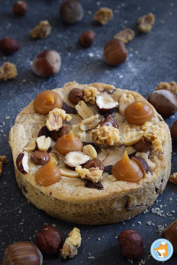 Recette détaillée de super gâteau cookie