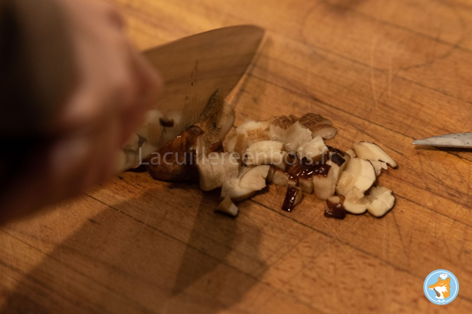 Recette pas-à-pas cannelloni succulents aux épinards, à la ricotta et aux cèpes.
