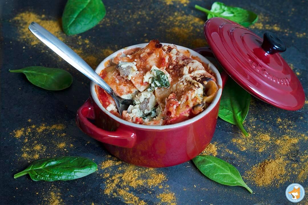Recette de cannelloni super gourmands aux cèpes et aux épinards