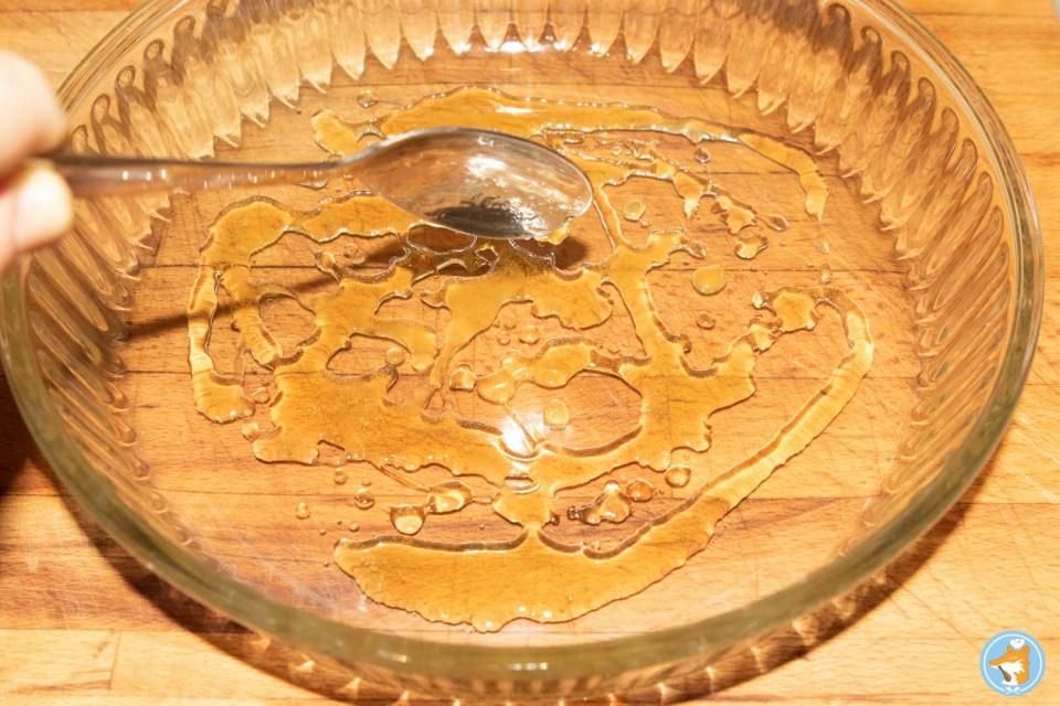 méthode pas-à-pas pour une succulente tarte retournée aux chicons, au miel, et au chèvre