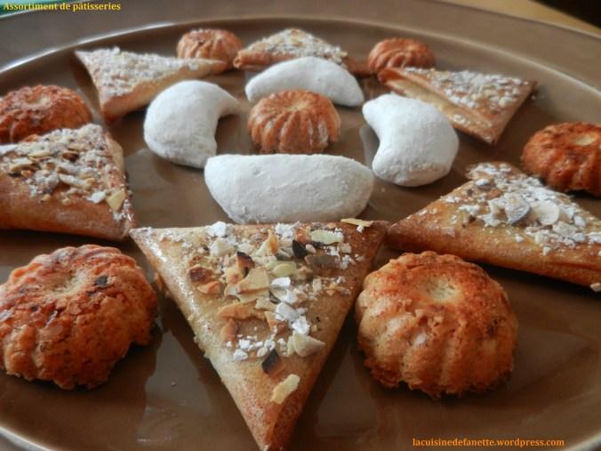 Assortiments de pâtisseries
