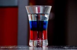 Russian flag Short Drink
