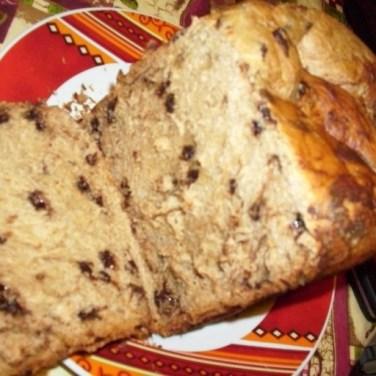 pain pépites de chocolat