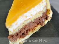 Charlotte orange chocolat