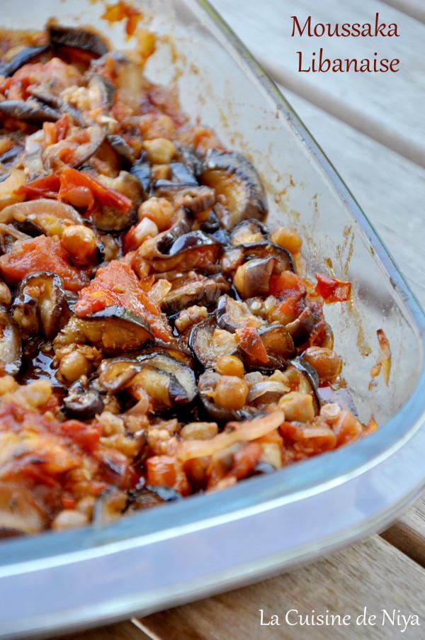 La Cuisine de Niya - Moussaka libanaise - vegan