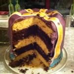gâteau à étage au chocolat 2