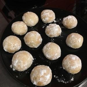 Sablés Rhum-Bourbon - La Cuisine De Steve eggnog cookie