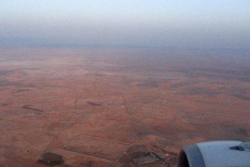 Arrivée en avion - Syrie 2010