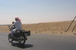 Keffieh casque - Syrie 2010