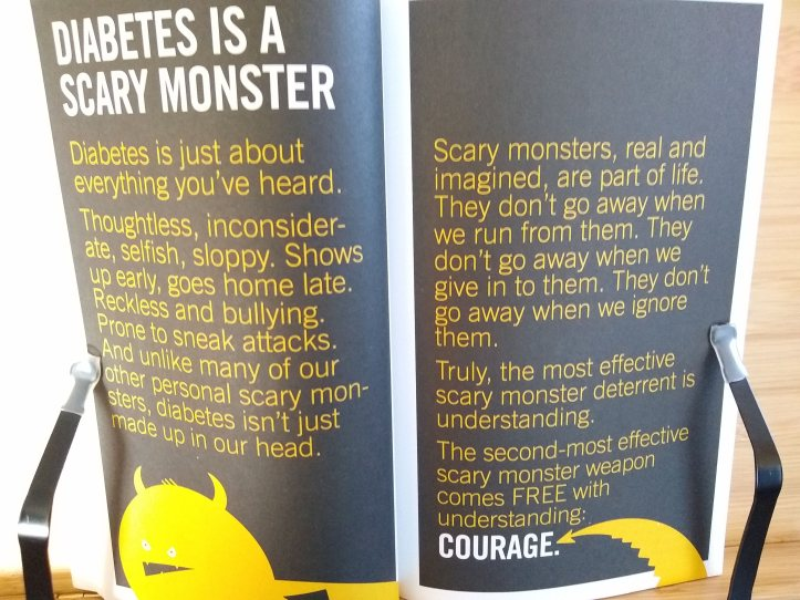 Diabetes is a scary monster