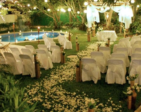 jardin boda