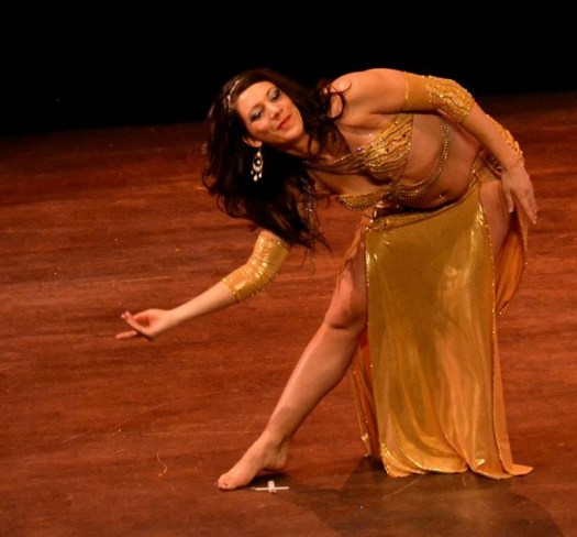 '...la danse orientale a été une évidence.'