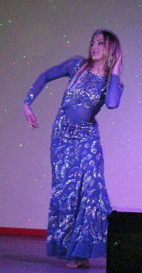 'Son métier, c'est la danse orientale. Une évidence'