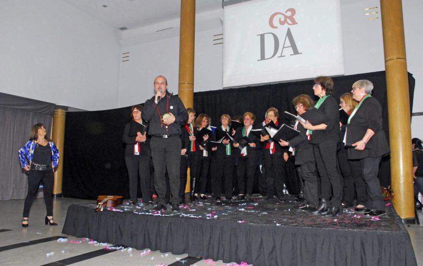 Coro en la fiesta en Gala