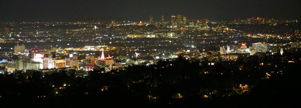 View from Griffith Park Observatory