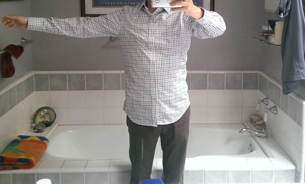 Shirt that fits