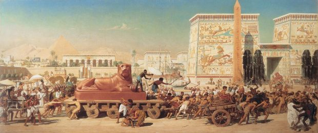 1867_Edward_Poynter_-_Israel_in_Egypt