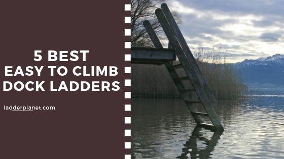easy climb dock ladder
