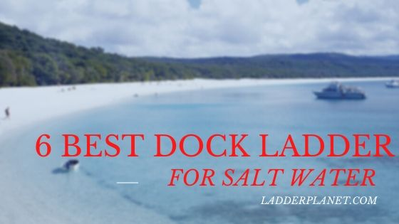best dock ladder for salt water