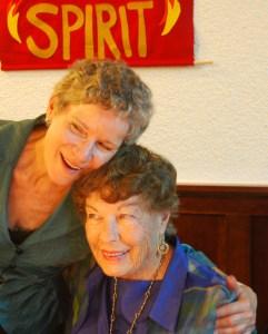 Vocalist Margo Pedrick with her aunt, organist Jo Klenshoj