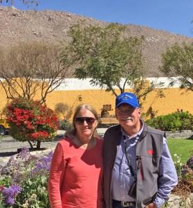 Pat and Sharon in Ariquipa