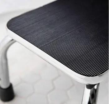 Non-slip rubber surface