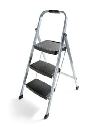 rubbermaid rm-3w folding steel frame stool