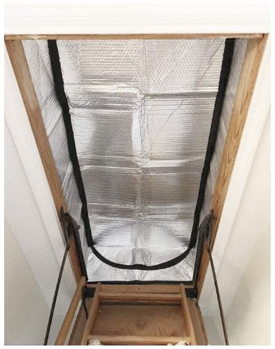 Attic Stairs Insulation Cover for Pull Down Stair 25 x 54 x 11