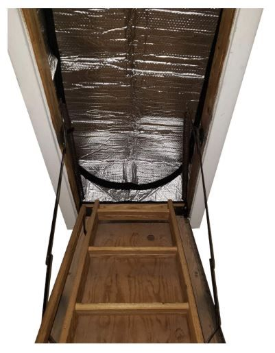 Attic Stairs Insulation Cover for Pull Down Stair