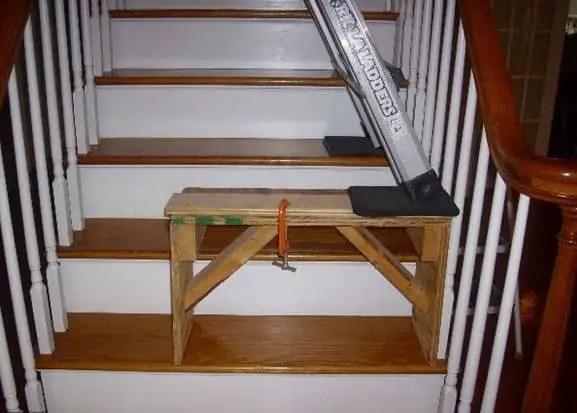 wedge style stool