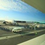 遥か彼方の南アフリカ・ケープタウン国際空港へ到着