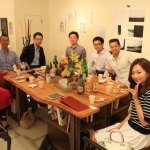 Yamauchi, Kiyoshi exhibition success in the inner ring a toast! Launch party @ tamachi 324 Gallery